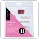 French Look Tips pack 100 with Glue